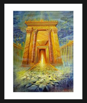 jerusalem temple painting