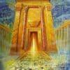 Painting: Light of the Third Jerusalem Temple