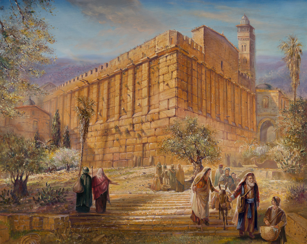 Jerusalem and Jewish Paintings