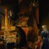 Painting: Magnificent light of Menorah