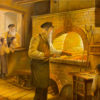 Painting: Making Matzah