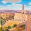 Painting: Migdal David