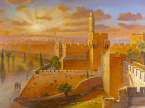 Migdal David tower jerusalem