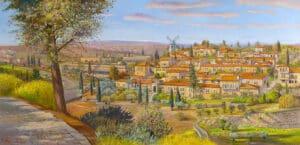 Montefiore jerusalem painting