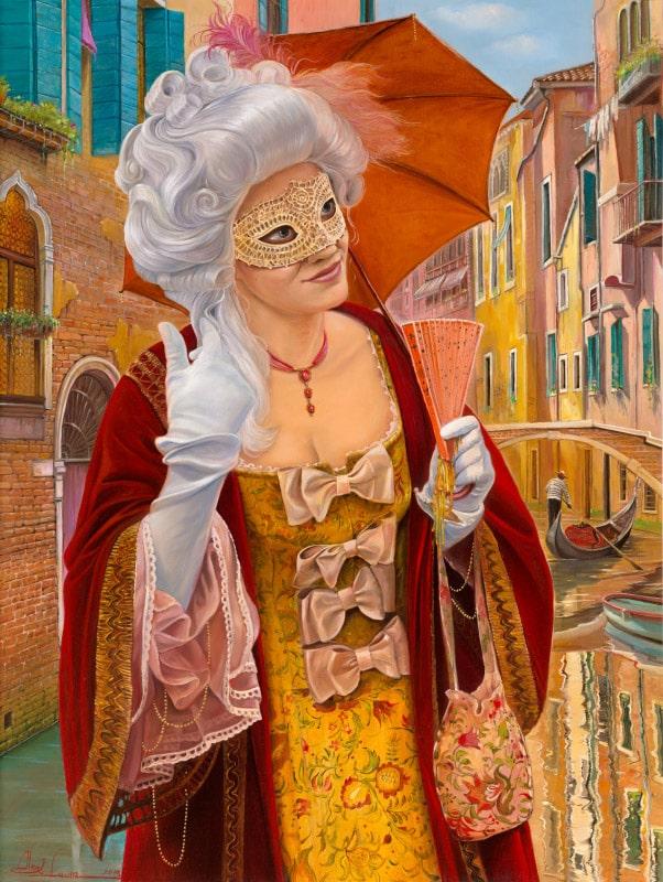 Venice Carnival Paintings