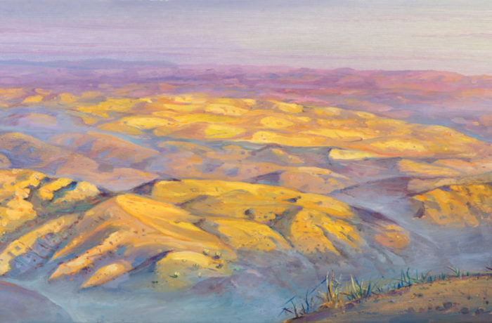 Original Oil Painting: Mountains of the Dead Sea Scrolls