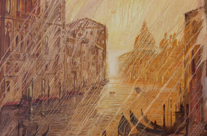 Original Oil Painting: Mozart – Piano Concerto No. 20