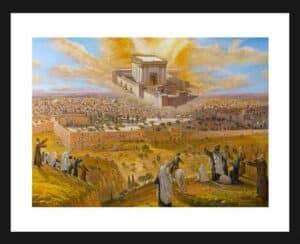 jewish temple painting