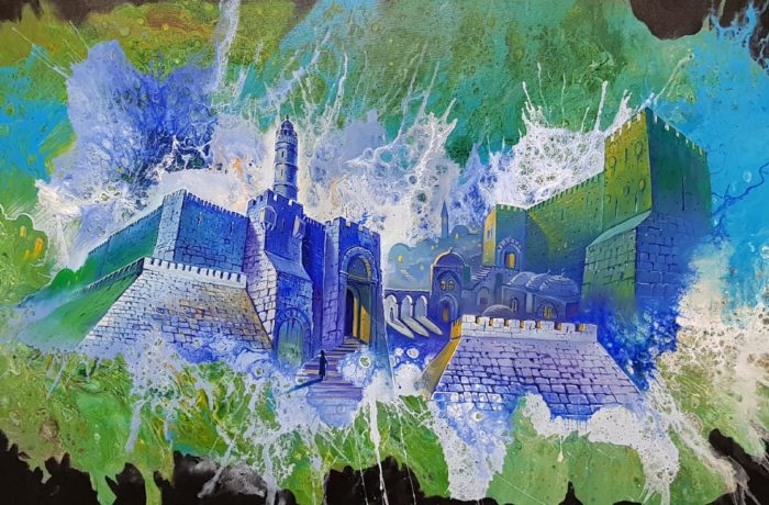 Painting: Mysteries of Jerusalem