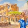 Painting: Nahalat Binyamin