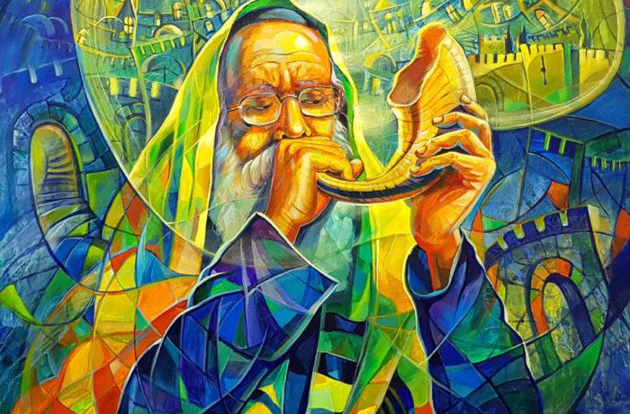 Original Oil Painting: Next Year in Jerusalem