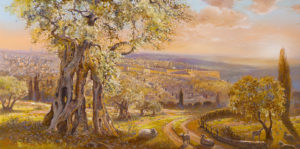jerusalem view painting