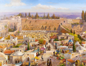 old jerusalem painting