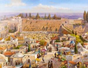 old jerusalem painting