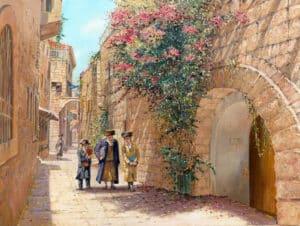 Old streets of Jerusalem