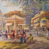 Painting: One day in Tel Aviv