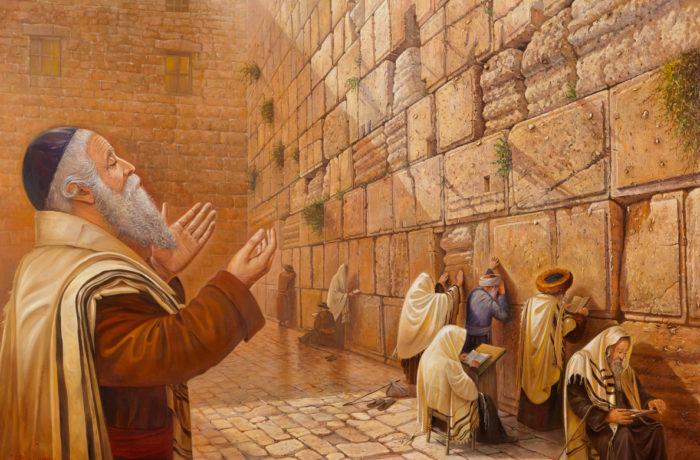 Original Oil Painting: Power of Kotel