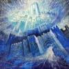 Painting: Projecting the astonishing energy of Jerusalem