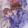 Painting: Purple Reflection