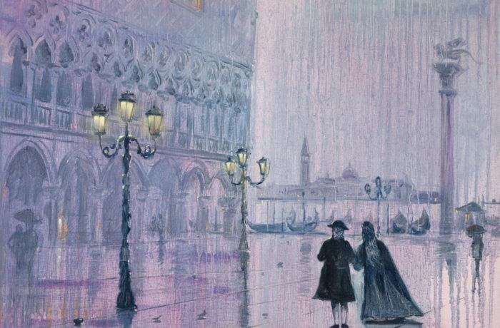 Original Oil Painting: Rachmaninov – Elegie in E flat minor
