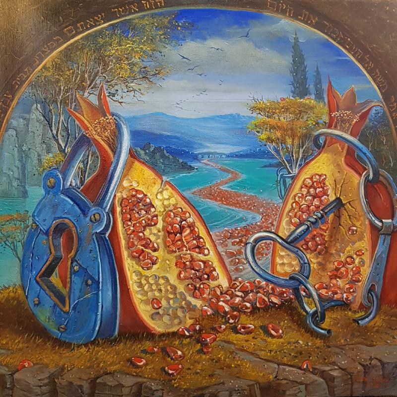 contemporary jewish painting
