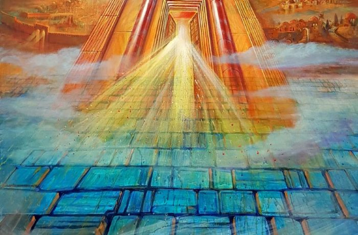 Painting: Rising of the Third Jerusalem Temple