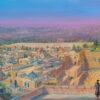 Painting: Roofs of Jerusalem