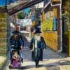 Painting: Shining day in Mea Shearim