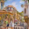 Painting: Shopping is always fun in Bezalel Market in Tel Aviv