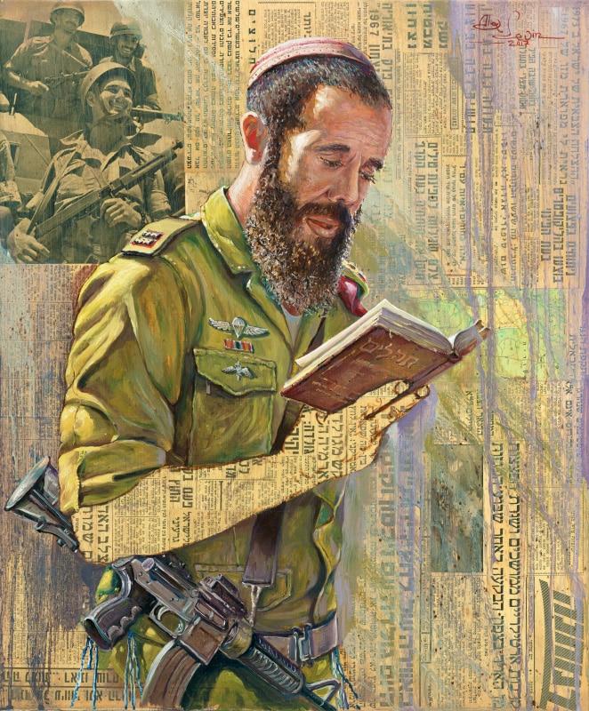 Original Oil Painting: Sons of Israel