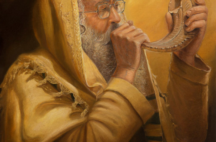 Painting: Sounding of Shofar