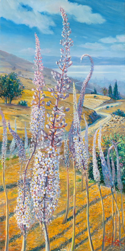 Squills by Kineret, Painting by Alex Levin