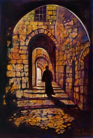 jerusalem street via dolorosa