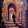 Painting: Street in Jerusalem