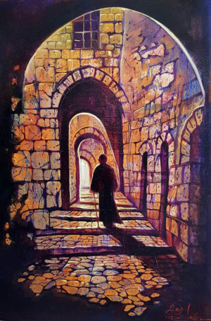 Contemporary Jerusalem Painting