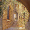 Painting: Street in the Old City