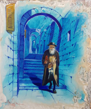 Tzfat Safed painting