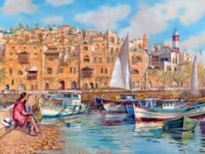Summer day in Jaffa