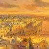 Painting: Sunrise in Holy Jerusalem