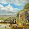 Painting: Tashlich in Shtetl