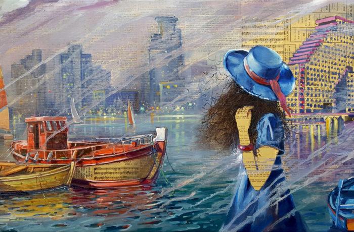 Painting: Tel Aviv – Non stop City