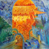 Painting: The Heavenly Jerusalem and the Earthly Jerusalem