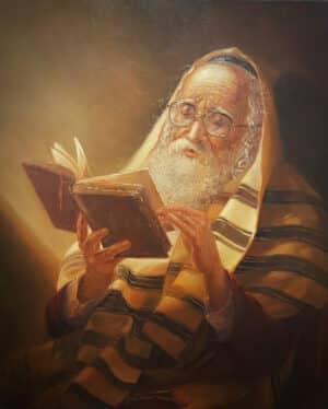 reading torah praying