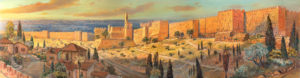 Walls of Jerusalem Painting