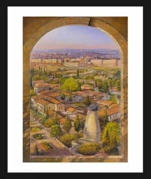 Montefiore Windmill in jerusalem