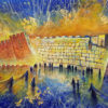 Painting: Jerusalem – the center of the Universe