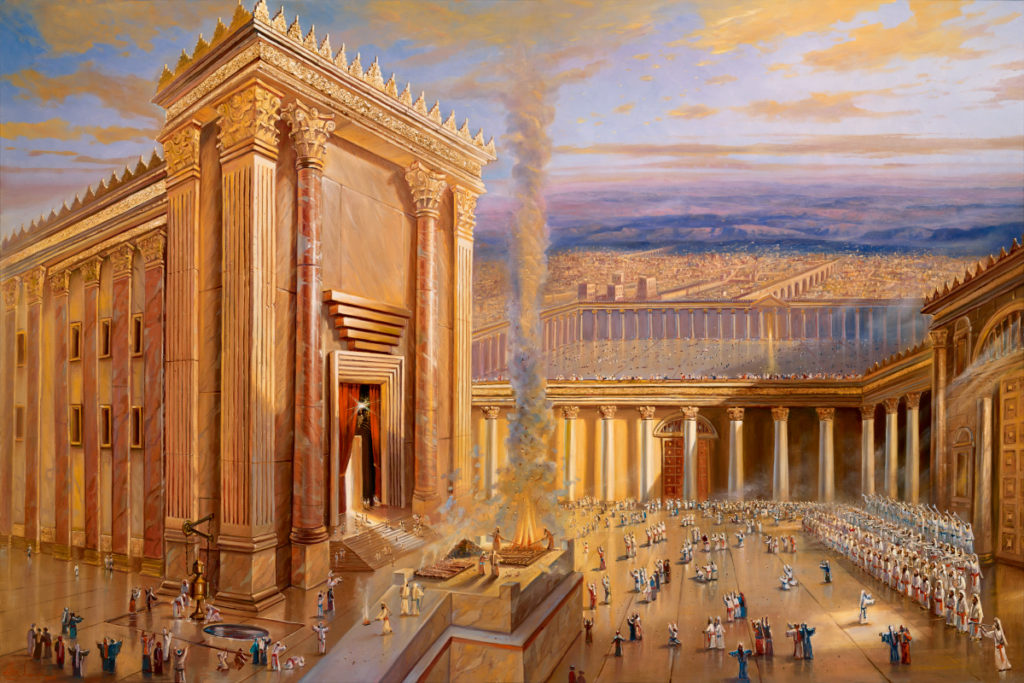 jerusalem temple painting
