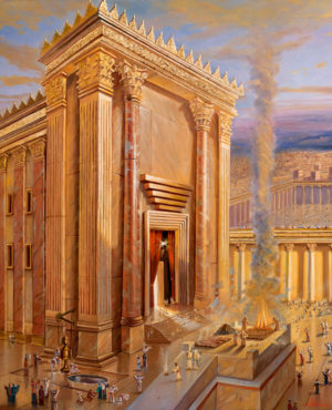 second jerusalem temple