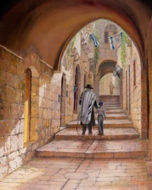 street of old jerusalem