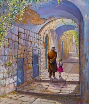 jerusalem arches painting